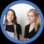 Malena Sigurgeirsdottir and Jessica Buhl-Nielsen